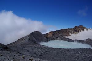 VOLCAN MT.RUAPEHU, 2797M