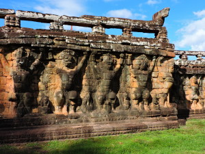 ANGKOR THOM - TERRACE OF THE LEPER KING